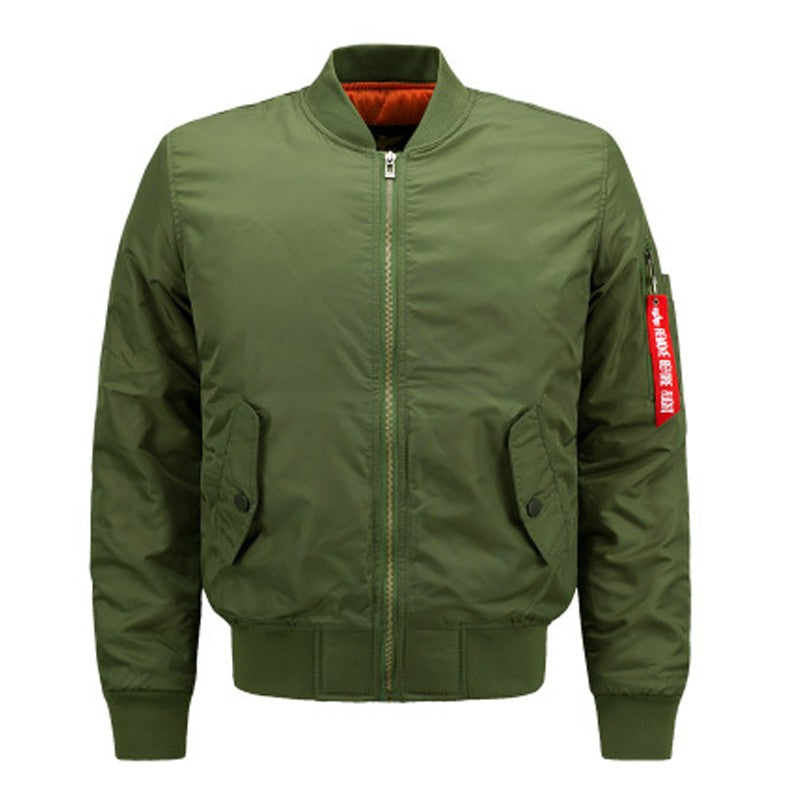 Men's Sports Casual Cotton Jacket-coat-Dee SuSu-Army Green-S-Dee SuSu