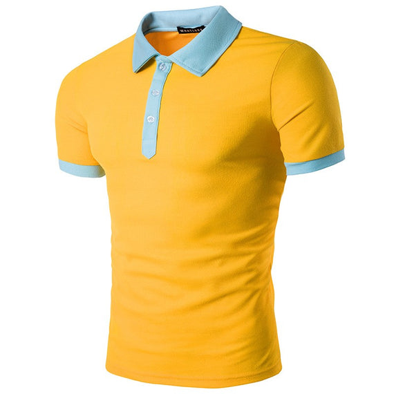 Men's T-shirt-t-shirt-Dee SuSu-Yellow-S-Dee SuSu