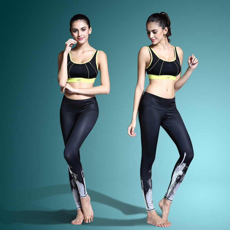 Women's Printed Stretch Sport Leggings-pant-Dee SuSu-Dee SuSu