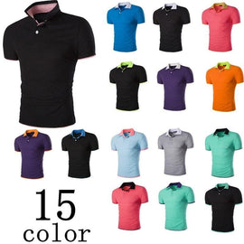 Short Sleeve Summer Polo Shirts - HOT-shirt-Dee SuSu-Dee SuSu