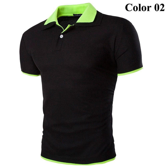 Short Sleeve Summer Polo Shirts - HOT-shirt-Dee SuSu-2-M-Dee SuSu