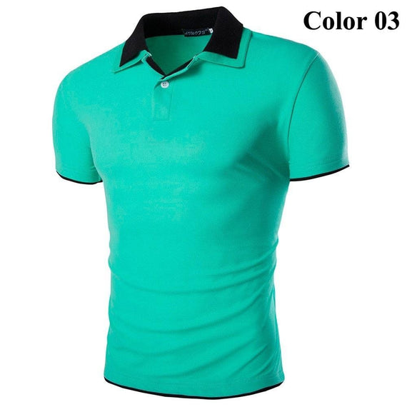 Short Sleeve Summer Polo Shirts - HOT-shirt-Dee SuSu-3-M-Dee SuSu