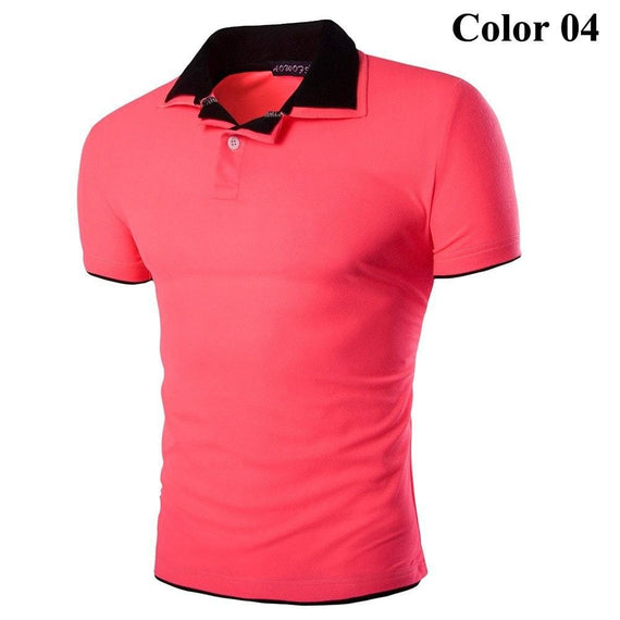 Short Sleeve Summer Polo Shirts - HOT-shirt-Dee SuSu-4-M-Dee SuSu