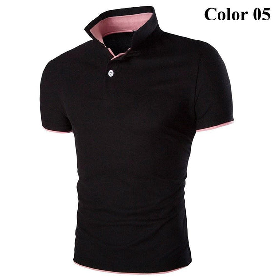 Short Sleeve Summer Polo Shirts - HOT-shirt-Dee SuSu-5-M-Dee SuSu