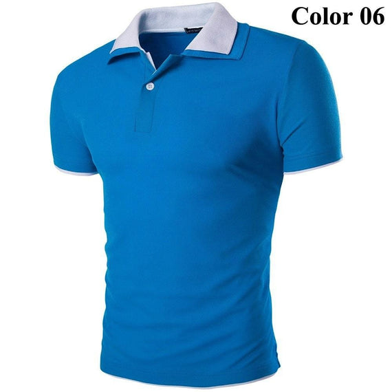 Short Sleeve Summer Polo Shirts - HOT-shirt-Dee SuSu-6-M-Dee SuSu
