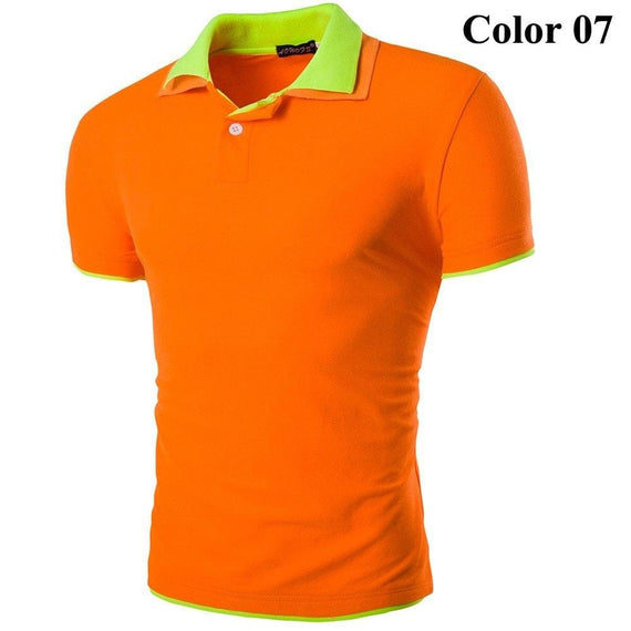 Short Sleeve Summer Polo Shirts - HOT-shirt-Dee SuSu-7-M-Dee SuSu