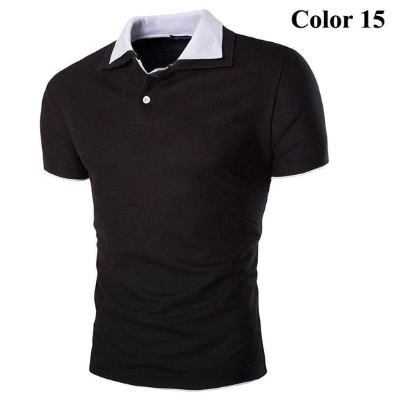 Short Sleeve Summer Polo Shirts - HOT-shirt-Dee SuSu-15-M-Dee SuSu