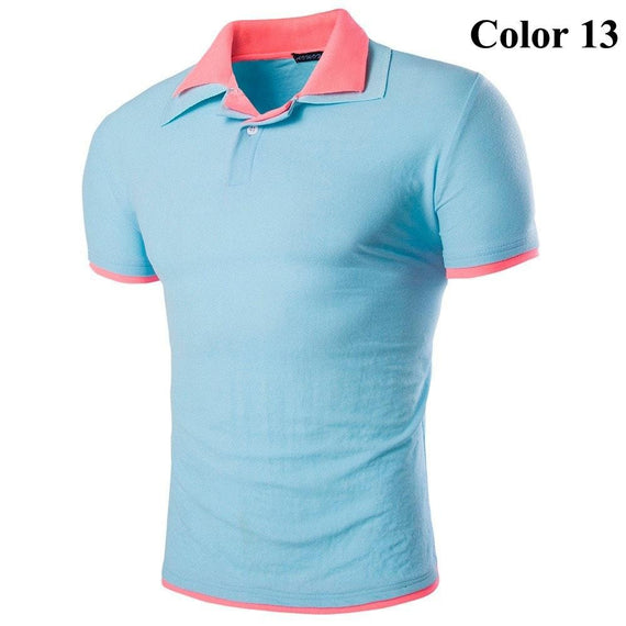 Short Sleeve Summer Polo Shirts - HOT-shirt-Dee SuSu-13-M-Dee SuSu