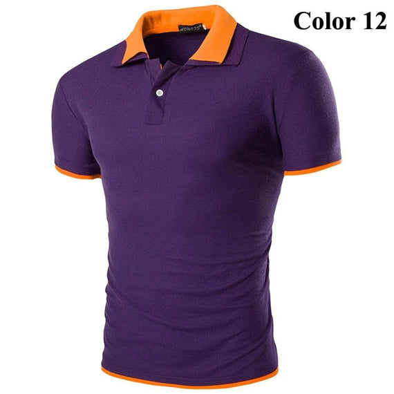 Short Sleeve Summer Polo Shirts - HOT-shirt-Dee SuSu-12-M-Dee SuSu