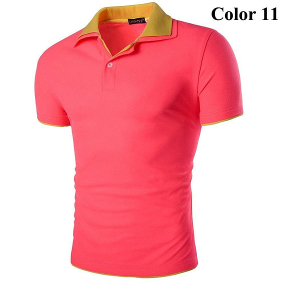 Short Sleeve Summer Polo Shirts - HOT-shirt-Dee SuSu-11-M-Dee SuSu