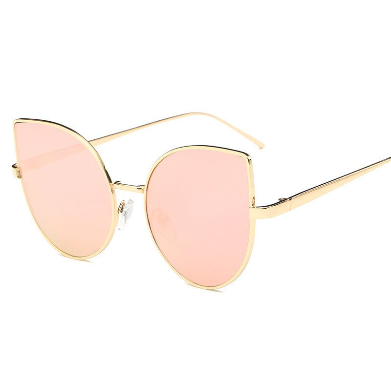 Cat Eye Sunglasses-sunglasses-Dee SuSu-Gold+Pink-Dee SuSu