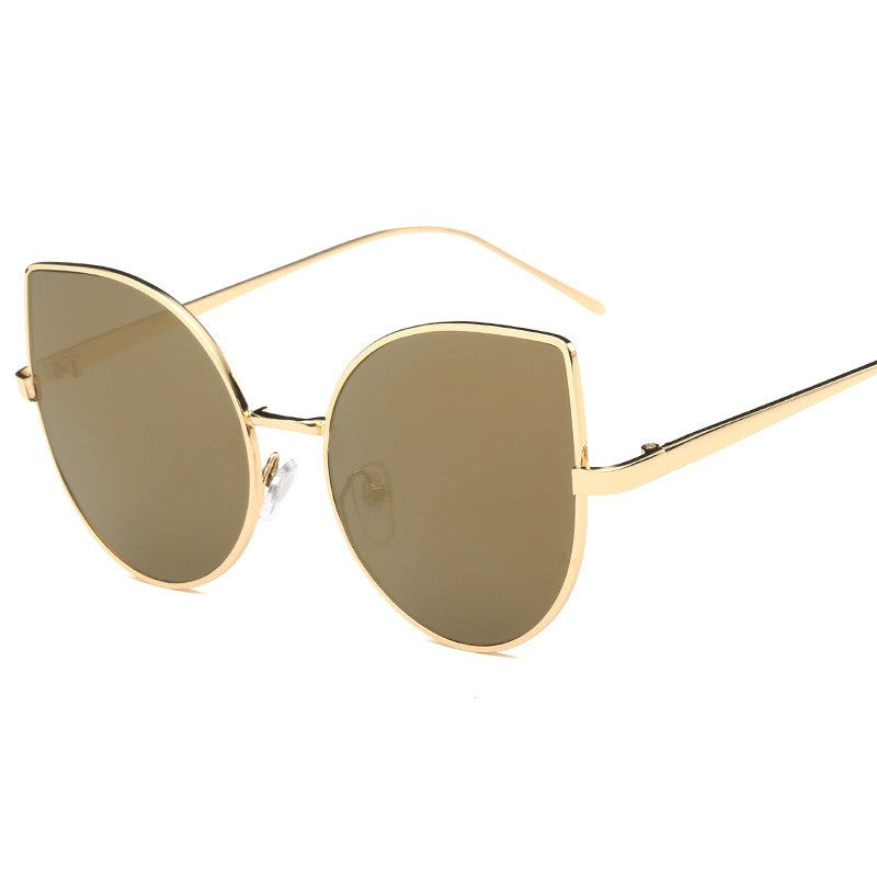 Cat Eye Sunglasses-sunglasses-Dee SuSu-Gold+Luxury Gold-Dee SuSu