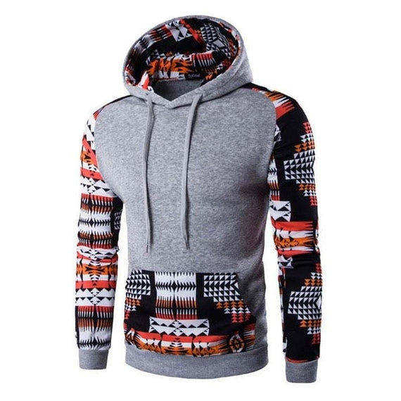 Aztec Pattern Hoodies-hoodie-Dee SuSu-Light Gray-M-Dee SuSu