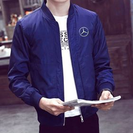 Spring and Autumn Casual Sturdy Fashion Slim Pilot Jacket Men's Baseball Jacket
