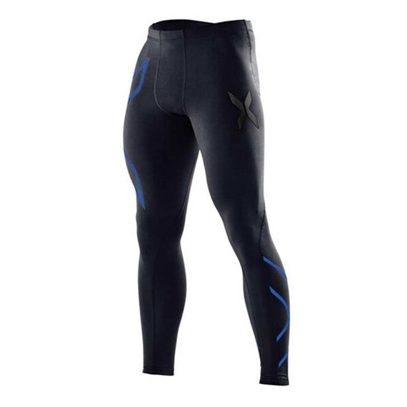 Men's Quick-drying Tights Pants-default-Dee SuSu-men blue-S-Dee SuSu