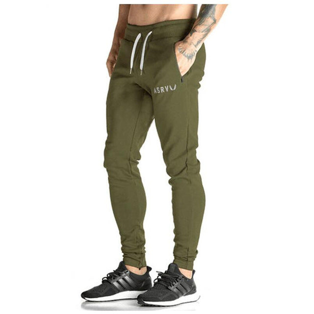 Elastic Slim Fit Jogger Pants-default-Dee SuSu-Army Green-XL-Dee SuSu