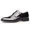 Handmade Pointed toe dress shoes for men-default-Dee SuSu-Black-7-Dee SuSu