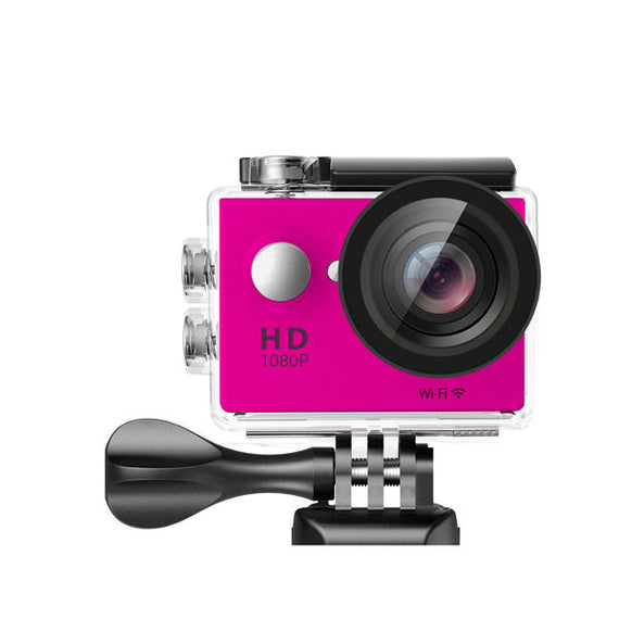 Waterproof Sports Action High Resolution 4K Ultra HD Camera with Remote WiFi-Dee SuSu-Pink-Dee SuSu