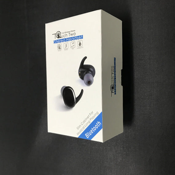 Mini Stealth Stereo Wireless Bluetooth Dual Earphones With Charging Box-Dee SuSu-Black-Dee SuSu