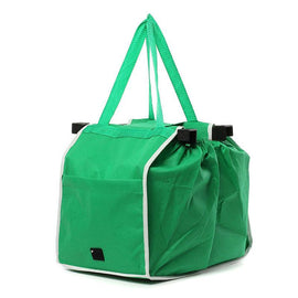 Eco-friendly Fold-able Reusable Grab Shopping Bag Tote