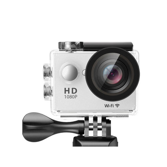Waterproof Sports Action High Resolution 4K Ultra HD Camera with Remote WiFi-Dee SuSu-Silver-Dee SuSu