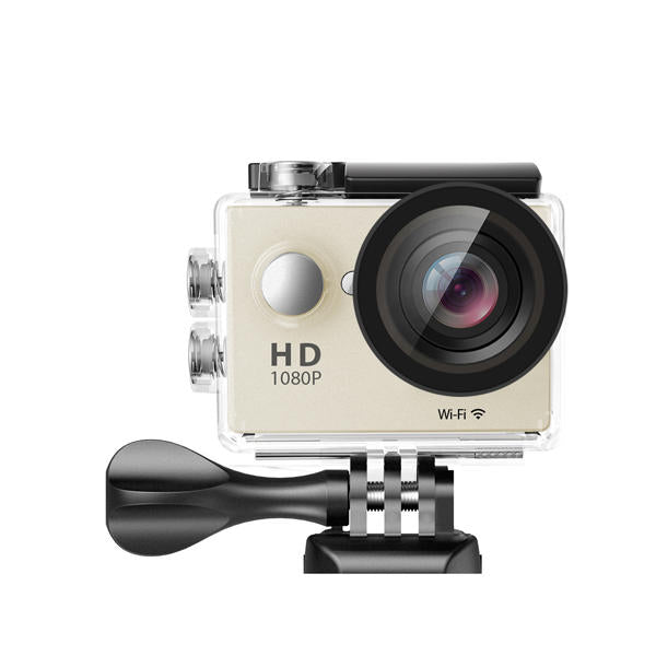 Waterproof Sports Action High Resolution 4K Ultra HD Camera with Remote WiFi-Dee SuSu-Gold-Dee SuSu