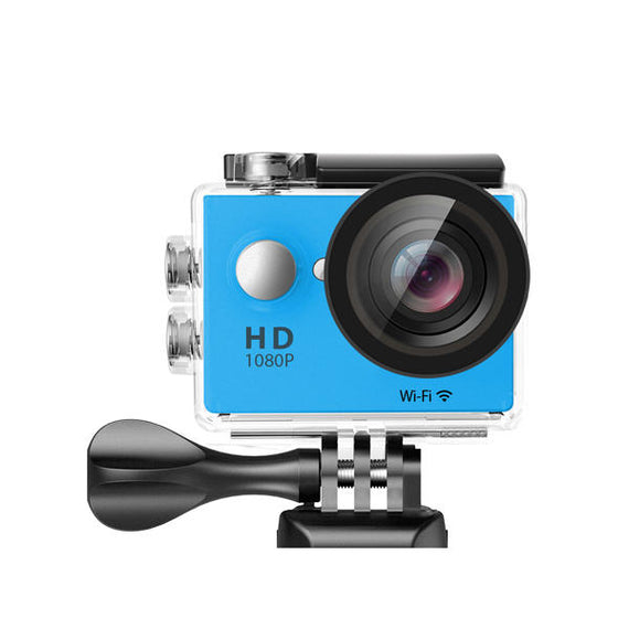 Waterproof Sports Action High Resolution 4K Ultra HD Camera with Remote WiFi-Dee SuSu-Blue-Dee SuSu