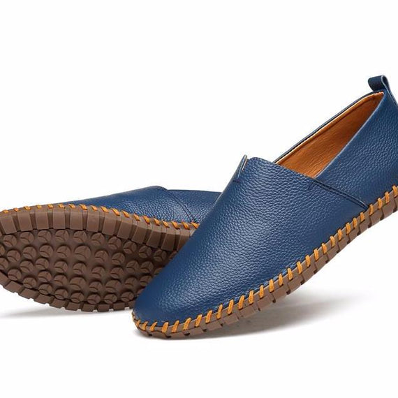 Men's Casual Handmade Slip On Loafers-default-Dee SuSu-Dee SuSu