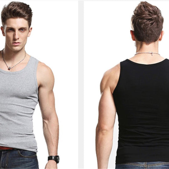 Men's O-Neck Tank Top Sleeveless Vest/T-shirt-default-Dee SuSu-Dee SuSu