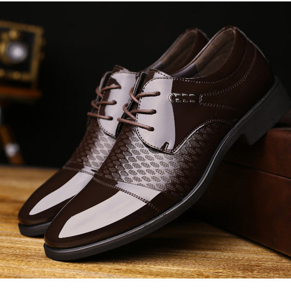 Handmade Pointed toe dress shoes for men-default-Dee SuSu-Dee SuSu