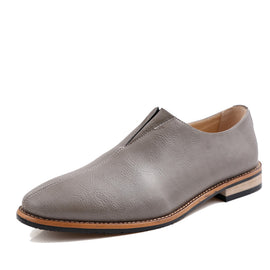 Flat Leather Loafers-default-Dee SuSu-Dee SuSu