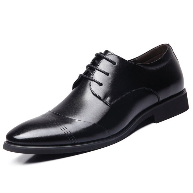 Pointed Toe Business Dress Formal Shoes For Men-default-Dee SuSu-Black-6.5-Dee SuSu