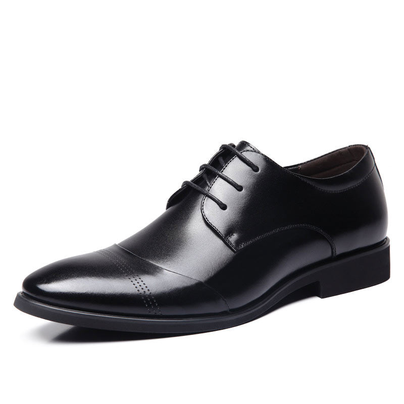 Pointed Toe Business Dress Formal Shoes For Men-default-Dee SuSu-Dee SuSu