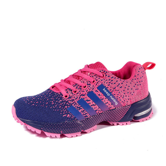 Lace Up Comfortable Sports Shoes-default-Dee SuSu-8702 Purple-5-Dee SuSu