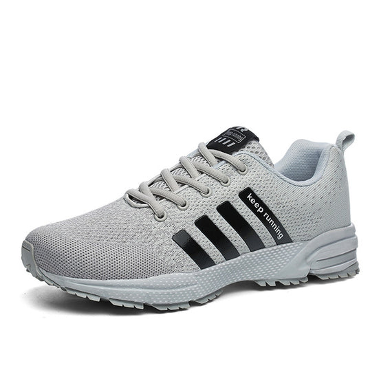 Lace Up Comfortable Sports Shoes-default-Dee SuSu-8702Gray-9-Dee SuSu