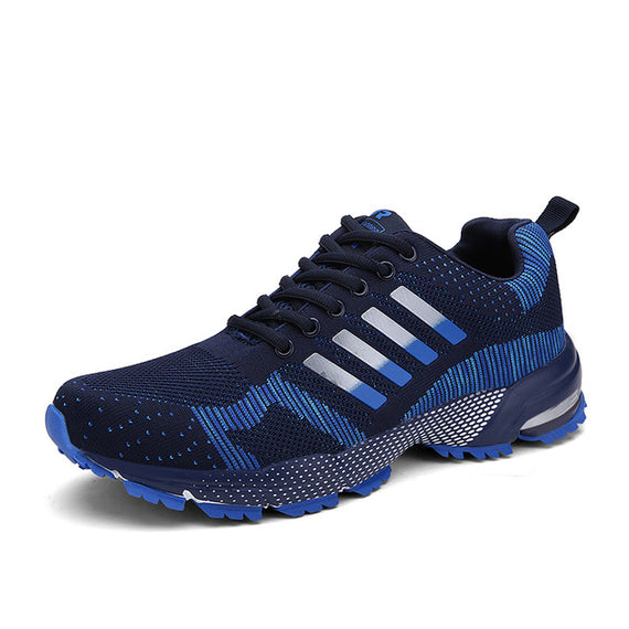 Lace Up Comfortable Sports Shoes-default-Dee SuSu-8701 Dark Blue-8.5-Dee SuSu