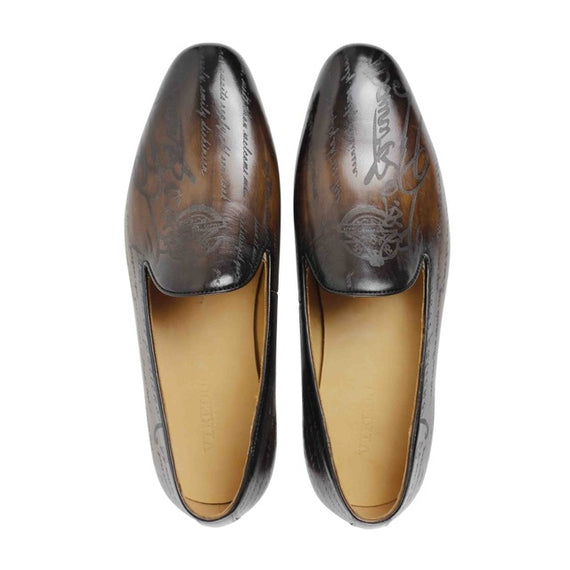 Man's Handmade leather Loafers-default-Dee SuSu-brown-8-Dee SuSu