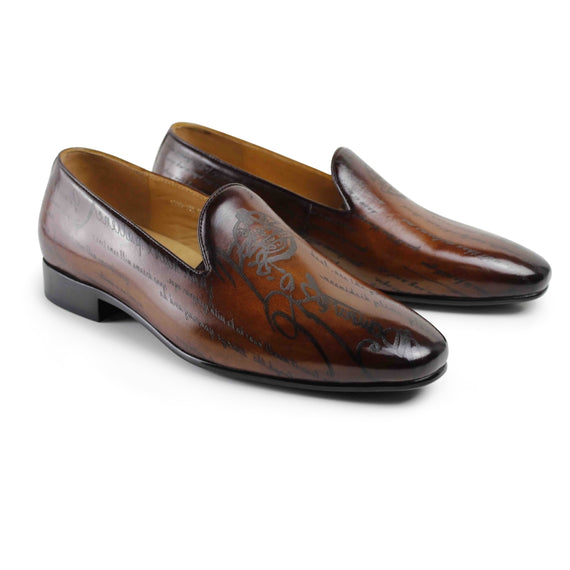 Man's Handmade leather Loafers-default-Dee SuSu-Dee SuSu