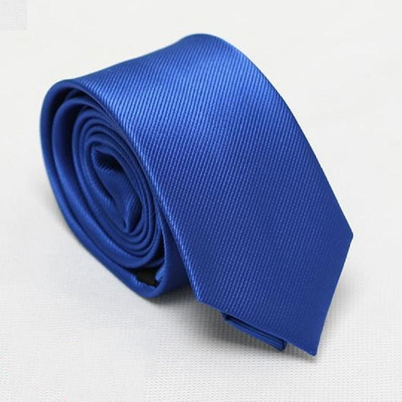 Men's slim neckties-default-Dee SuSu-6cm blue-Dee SuSu