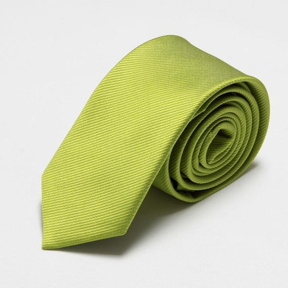 Men's slim neckties-default-Dee SuSu-6cm army green-Dee SuSu