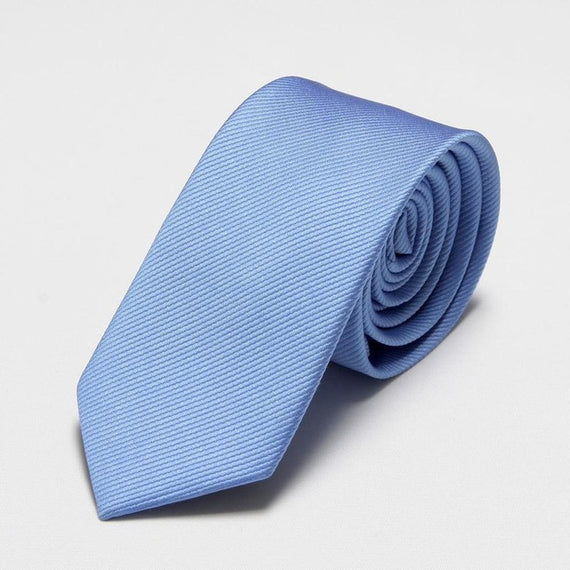 Men's slim neckties-default-Dee SuSu-6cm light blue-Dee SuSu