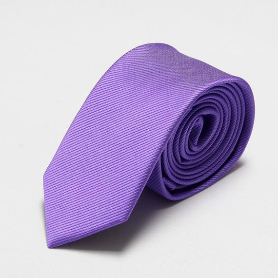 Men's slim neckties-default-Dee SuSu-6cm purple-Dee SuSu