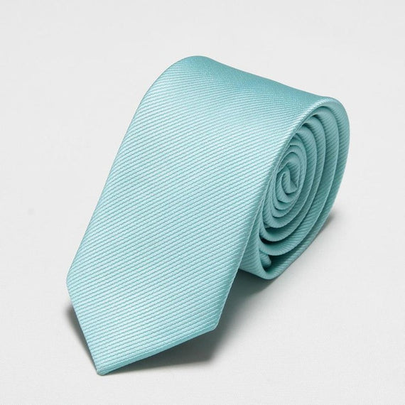Men's slim neckties-default-Dee SuSu-6cm sky blue-Dee SuSu