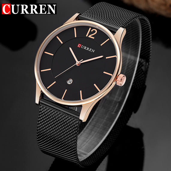 Luxury Quartz Watch With Stainless Steel For Men-Dee SuSu-Dee SuSu