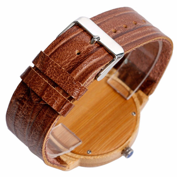 Pockemon Design Wooden Watch For Men and Women-Dee SuSu-Dee SuSu