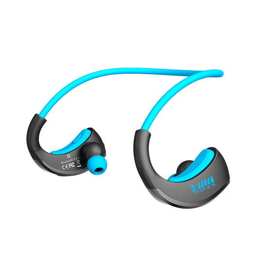 Waterproof Wireless Bluetooth V4.1 Sports Earphone-Dee SuSu-Blue-Dee SuSu