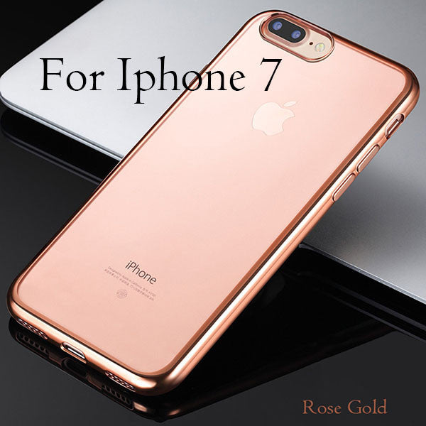 Cover For iPhone 7 / 6 / 6s / Plus / 5 / 5s / SE-Dee SuSu-RoseGold For i7-Dee SuSu