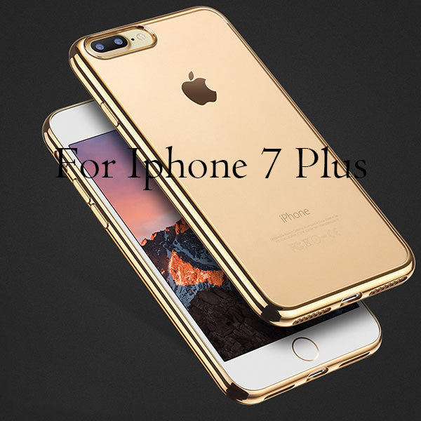 Cover For iPhone 7 / 6 / 6s / Plus / 5 / 5s / SE-Dee SuSu-Gold For i7 Plus-Dee SuSu