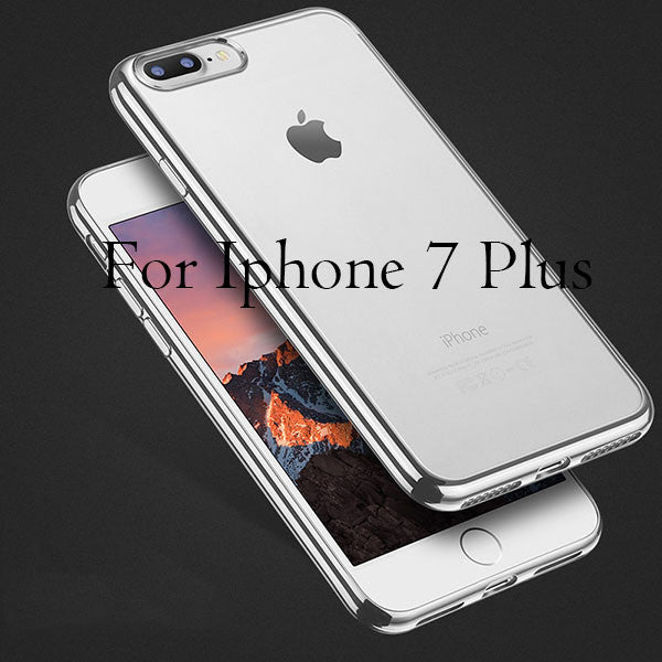 Cover For iPhone 7 / 6 / 6s / Plus / 5 / 5s / SE-Dee SuSu-Silver For i7 Plus-Dee SuSu