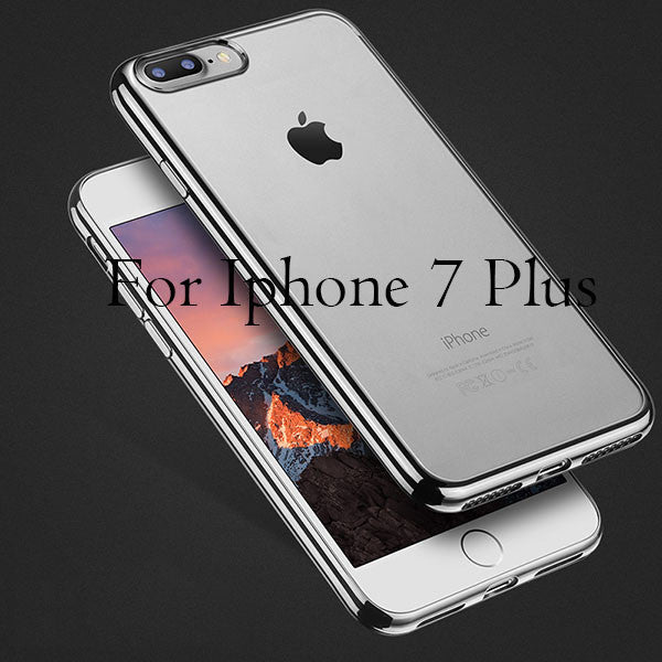Cover For iPhone 7 / 6 / 6s / Plus / 5 / 5s / SE-Dee SuSu-GrayBlack For 7 Plus-Dee SuSu